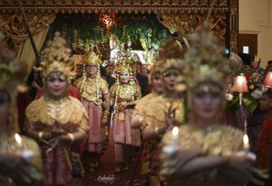 Wedding Traditional Palembang - Ajeng & Nugi